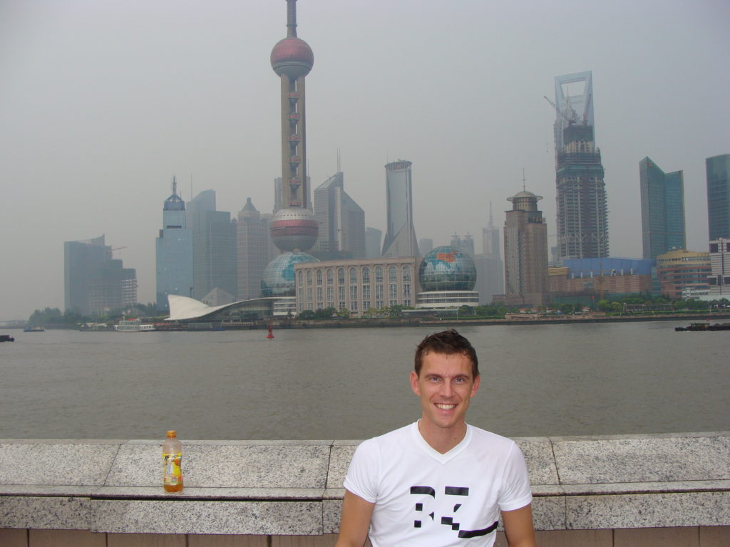 Shanghai, China, skyscrapers, Milo's accessibility rating, Blumil wheelchair