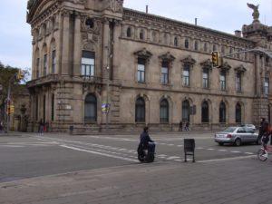 Barcelona sight-seeing on Blumil