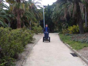 Riding Blumil in Barcelona