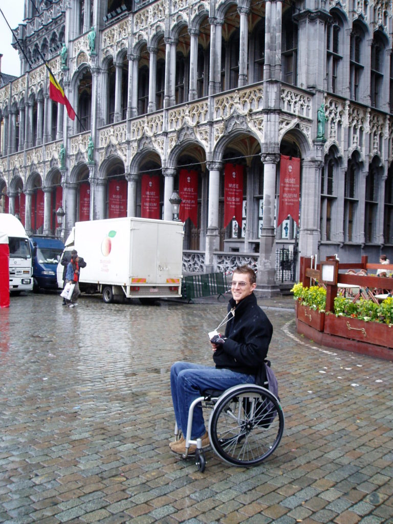 he Museum of the City of Brussels, Blumil wheelchair, Milo's accessibility rating