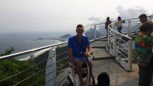 Beach ride on Blumil in Rio2016