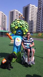 Blumil on Rio2016 Paralympics stadium