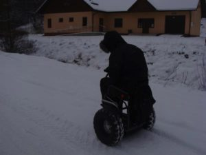 Blumil Ride in the snow