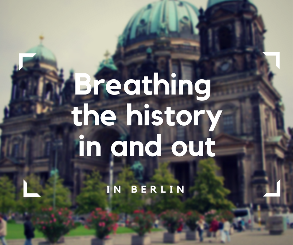 Breathing the history in and out in Berlin, Germany, Milo's accessibility rating, Blumil wheelchair