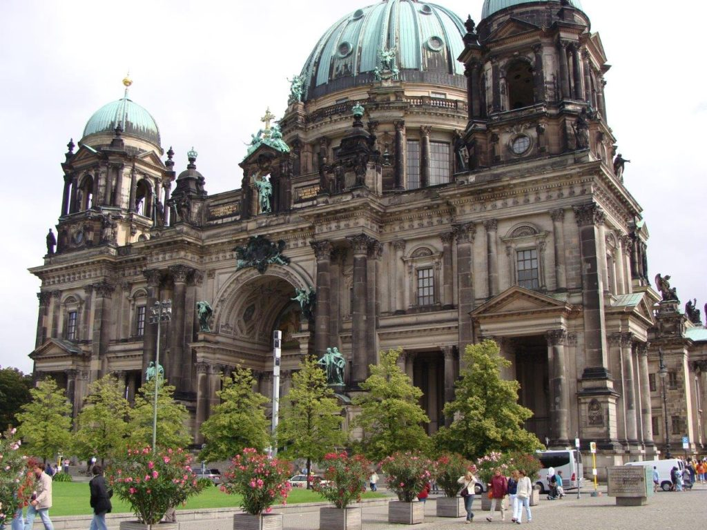 The Berlin Cathedral, Berliner Dom, Berlin, Germany, Blumil wheelchair, Milo's accessibility rating