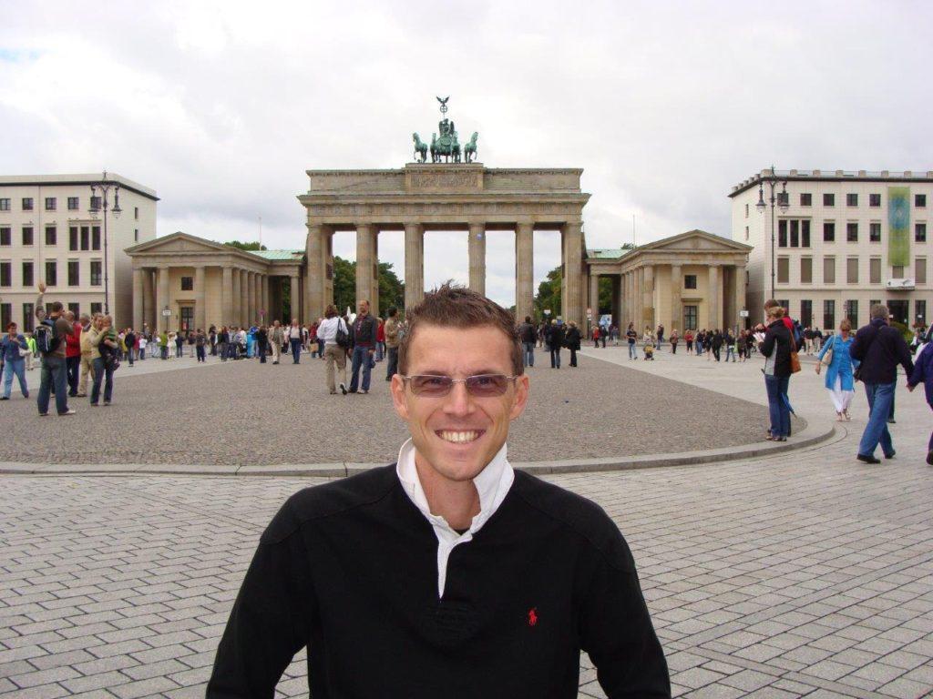 The Brandenburg Gate, Blumil wheelchair, Berlin, Germany, accessibility