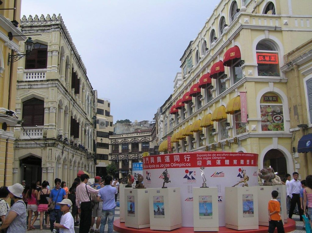 Macau, China, Milo's accessibility rating,Discover the Portuguese side of the city, Blumil wheelchair