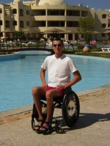 An electric wheelchair would have been better