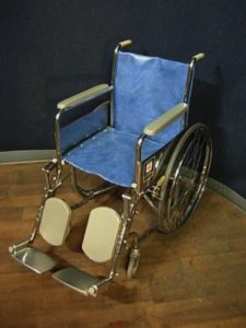 A traditional wheelchair - still not electric wheelchair