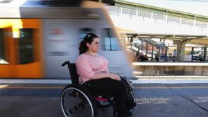 Not all trains carry electric wheelchairs