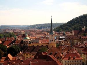 Splendid view in Prague