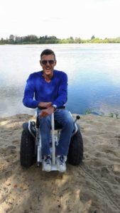 x2 Blumil electric wheelchair