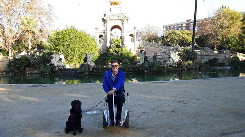 Ciutadella, Barcelona, Spain, travel, travel in an electric wheelchair, wheelchair friendly travel