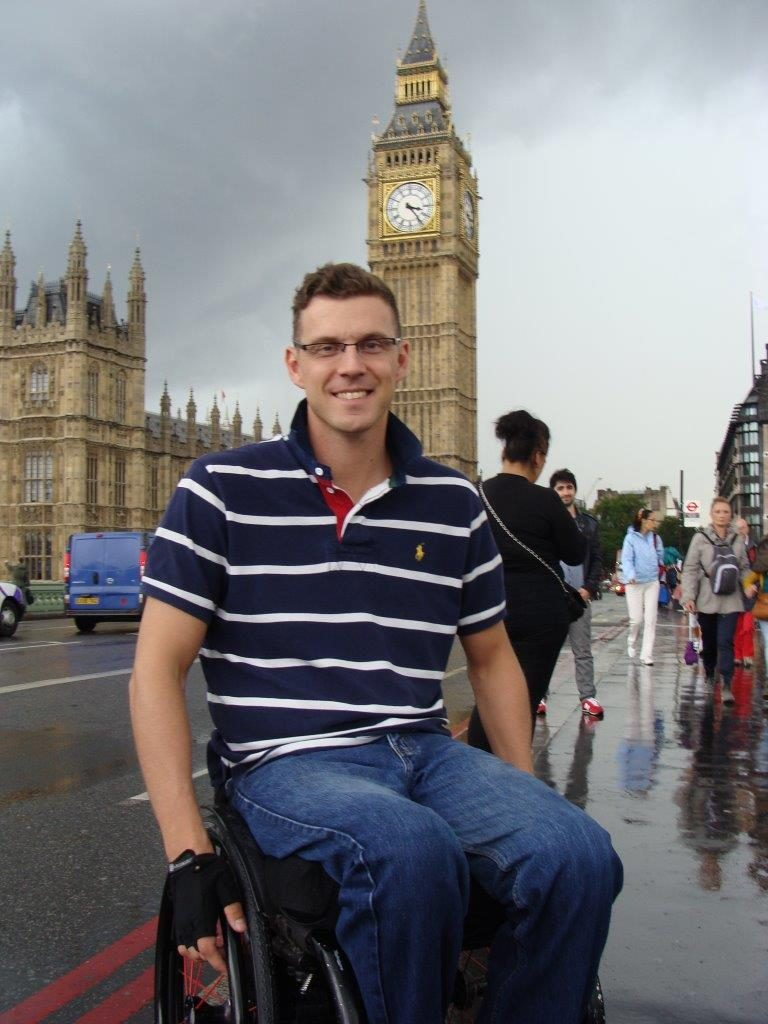 Trip to London, Accessible travelling, Blumil wheelchair