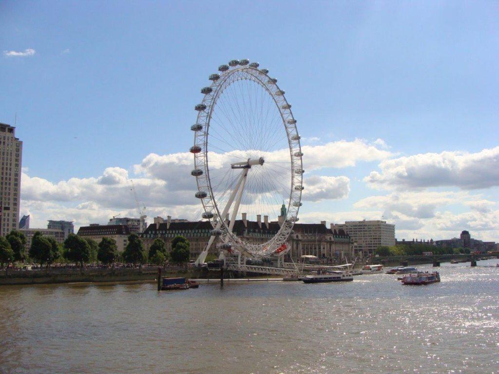A trip to London, Paralympics 2012, London Eye