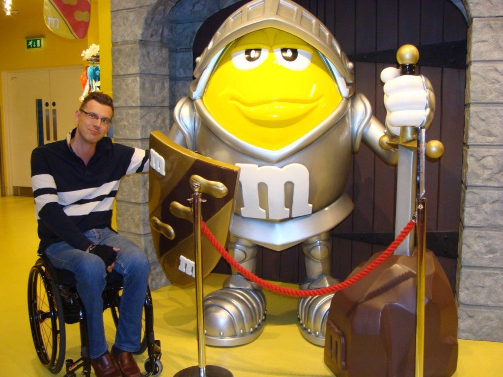 M&M's world, M&M's store, London, England, Accesibility rating