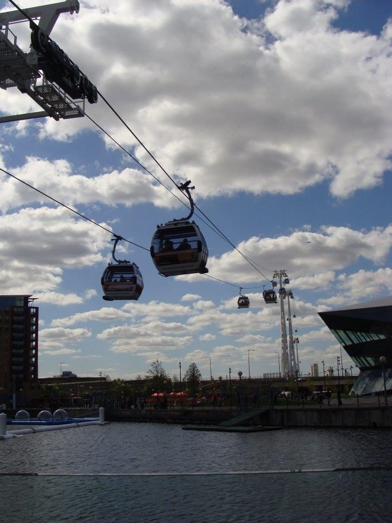 London Emirates Air Line, Accessibility rating, London, England, Blumil wheelchair