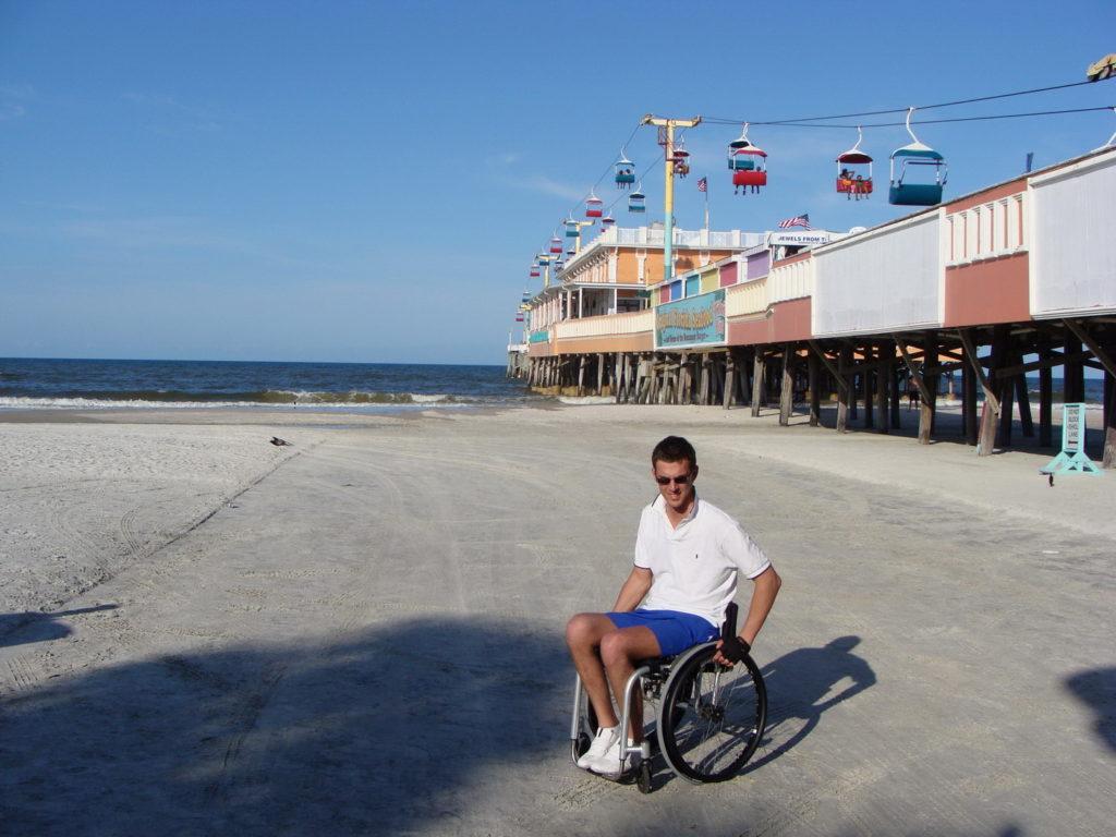 Daytona Beach, Florida, USA, trip to Florida, enjoying the sunny coast of Daytona Beach
