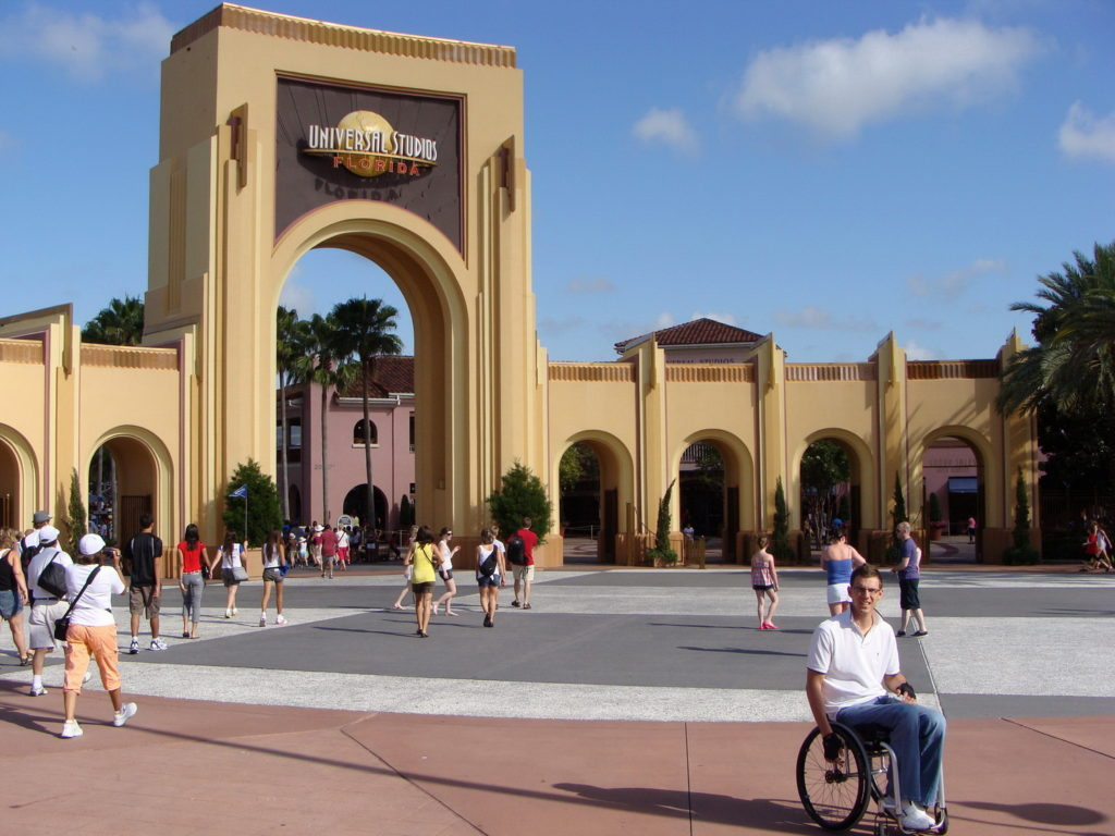 Universal Studios Florida, Trip to Orlando, Florida, USA, accessibility rating, Blumil wheelchair