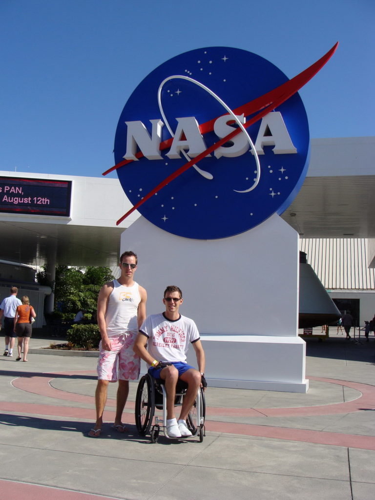 Kennedy Space Center, Florida, USA, wheelchair travel, accessible travel, Blumil wheelchair