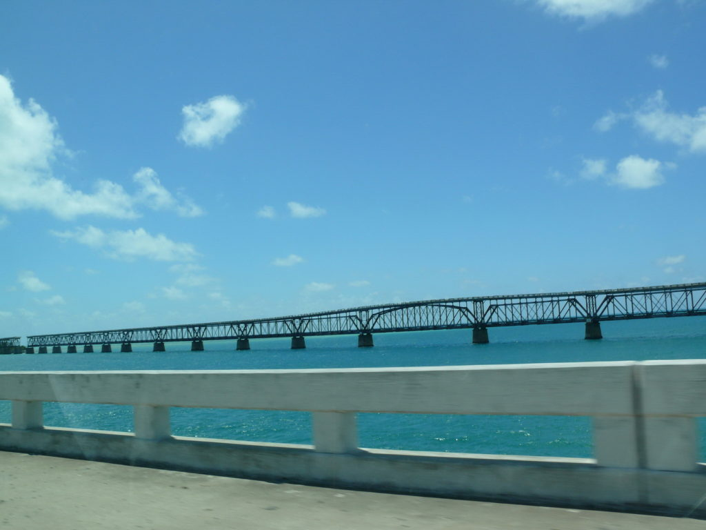 The Seven Mile Bridge, Travel Florida, USA, wheelchair travel, accessible travelling, Blumil wheelchair