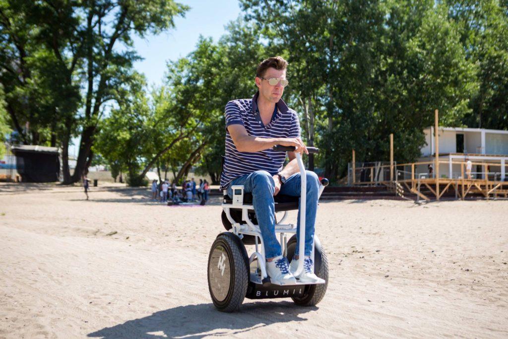 Blumil wheelchair, all-terrain, off-road, electric wheelchair
