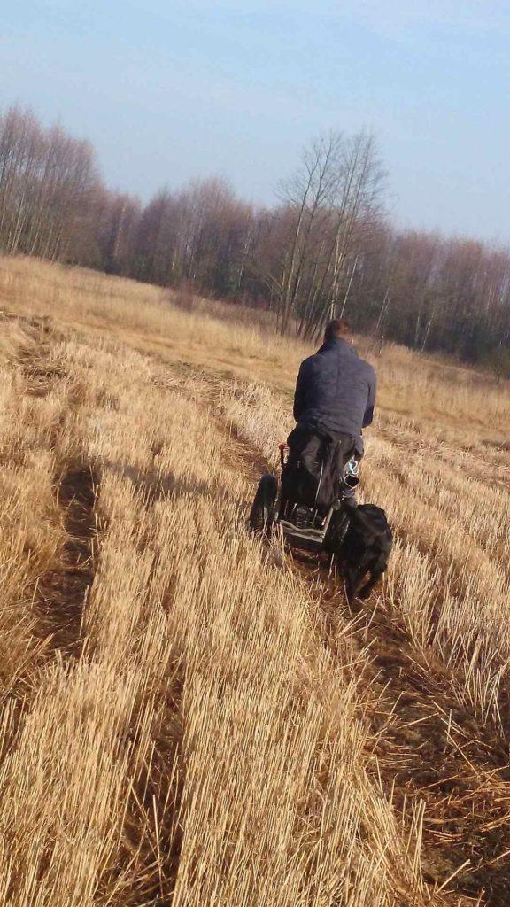 Electric wheelchair, off-road wheelchair, Blumil, all-terrain wheelchair