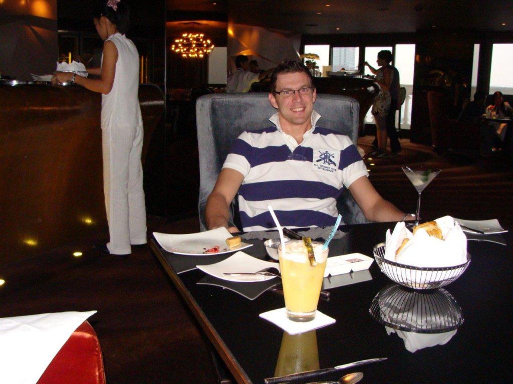 Partying in Bangkok, Thailand