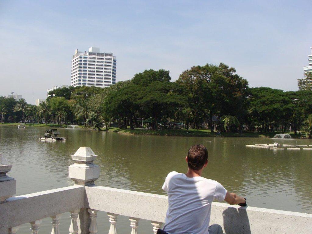 Bangkok, city park, Thailand