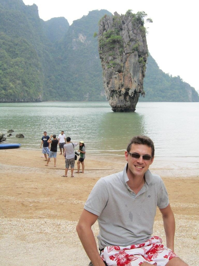 The Phi Phi Islands, Thailand, accessible travelling, travel with a wheelchair