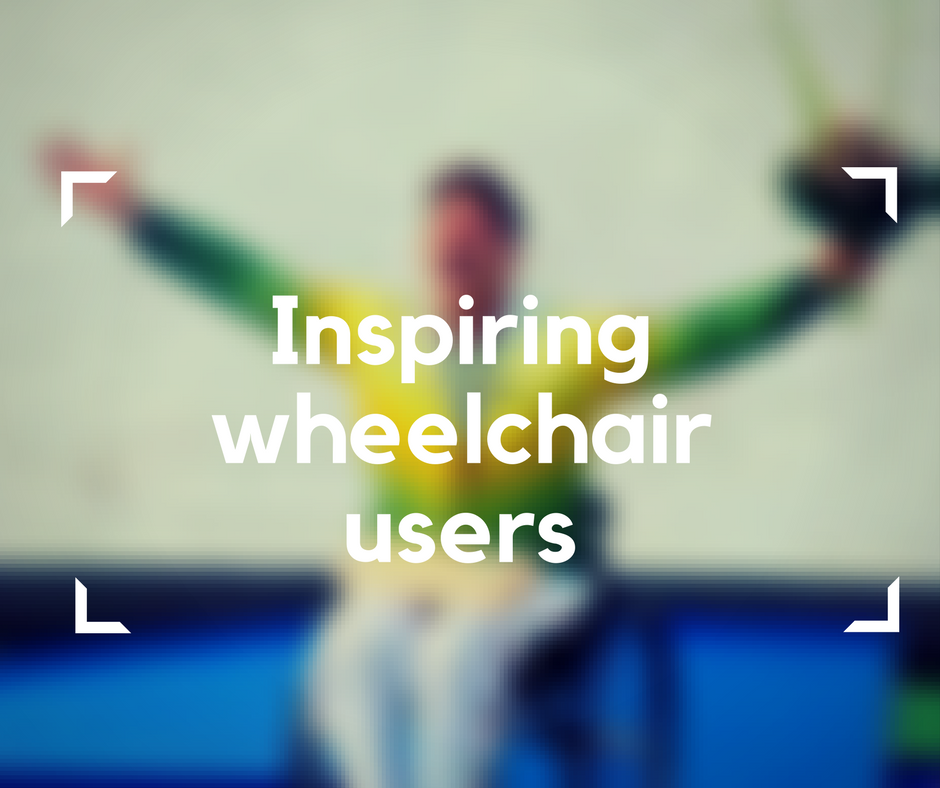 Inspiring wheelchair users
