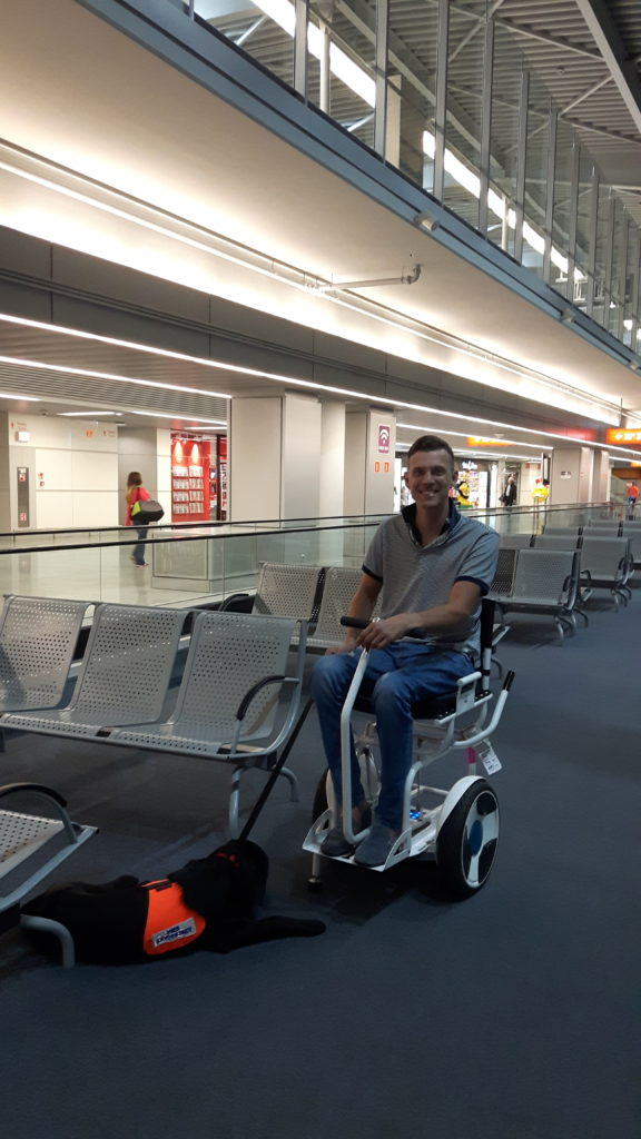 airport, flying with an electric wheelchair Blumil, transport and wheelchairs, accessible traveling