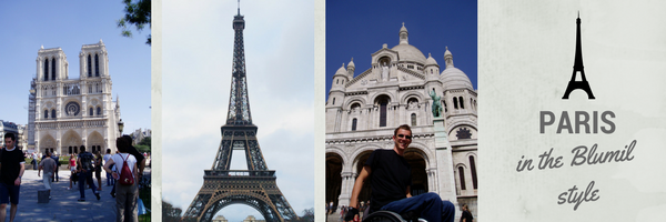 Accessibility in Paris, accessible travel, travel in a wheelchair, electric wheelchair