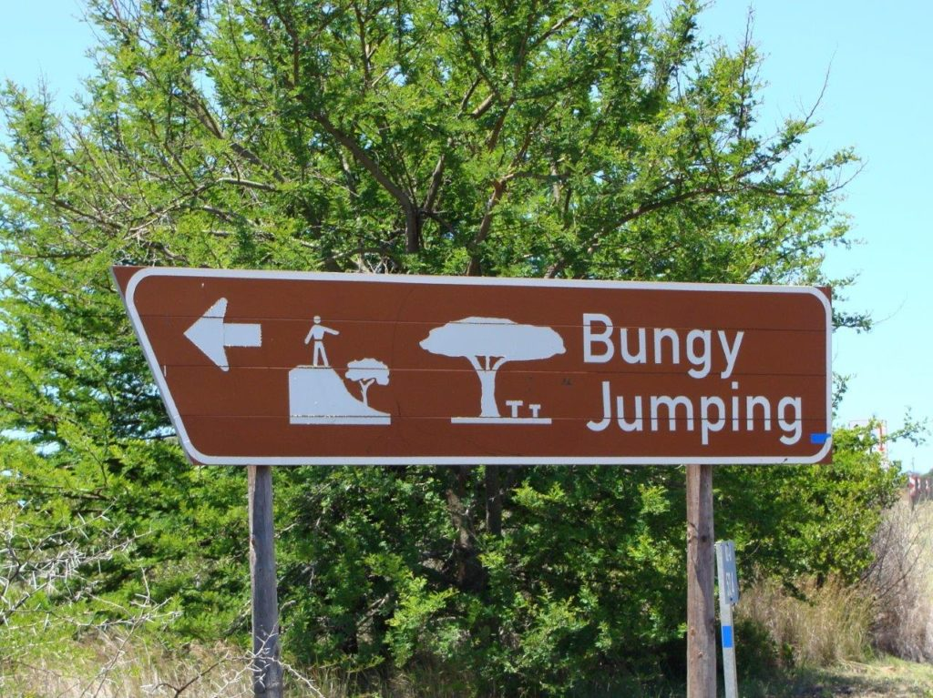 Bungy jumping, South Africa, travel in an eletric wheelchair, accessible traveling