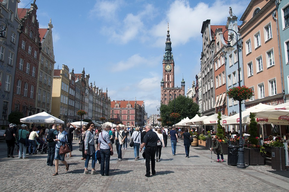 The Old Town, Gdańsk, Poland, accessible travel, electric wheelchair, accessible Poland