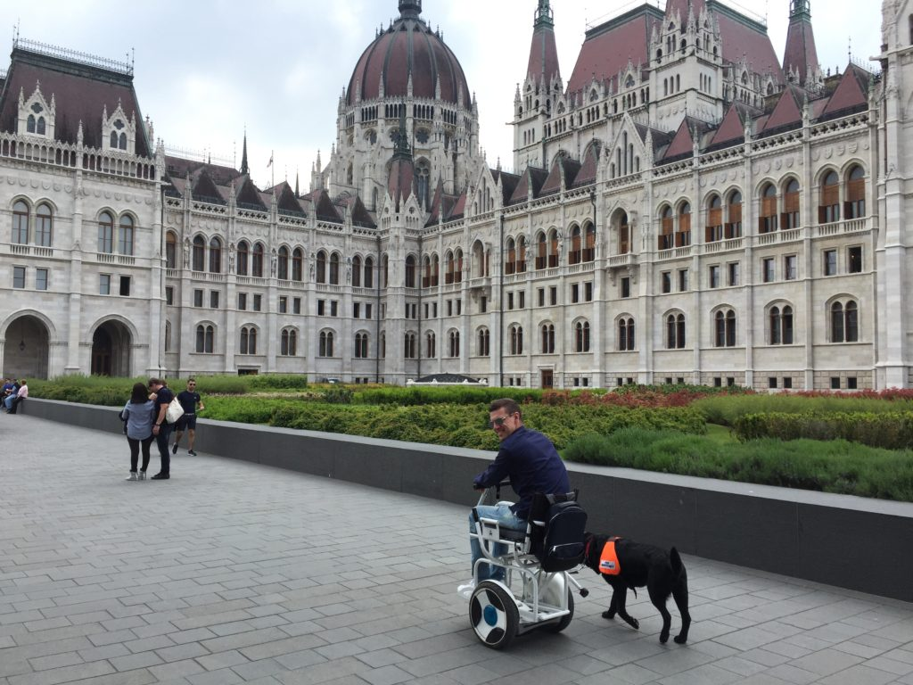 Budapest, Hungary, The great accessibility rating, electric wheelchair travel