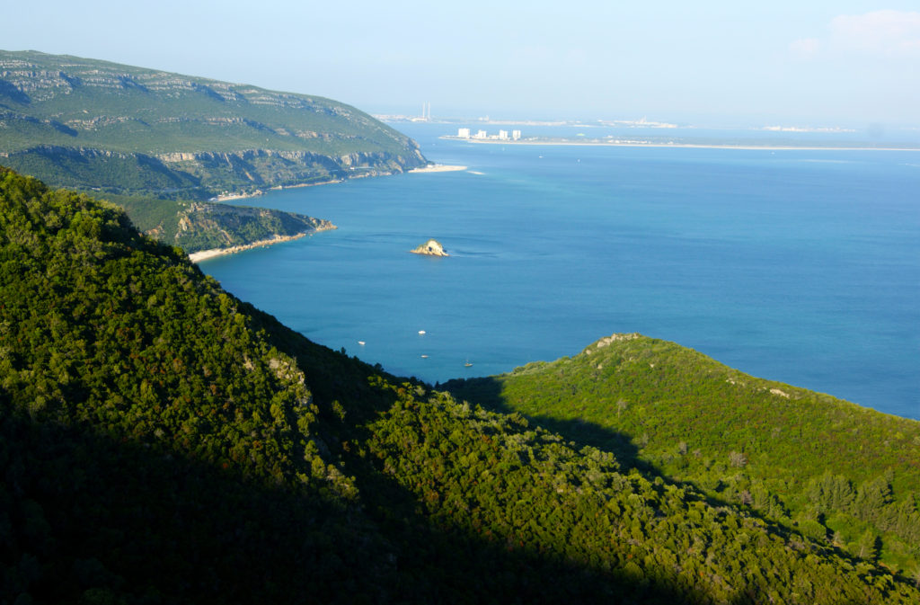 Nature Park of Arrábida, Portugal, accessible traveling, travel in an electric wheelchair