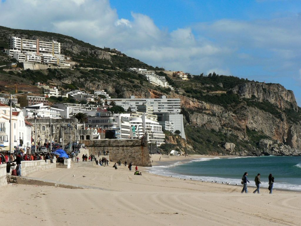 sesimbra, Portugal, accessible traveling, travel in an electric wheelchair