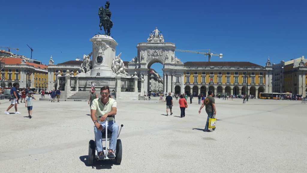 Lisbon, Portugal, travel in an electric wheelchair, accessible travel, Blumil