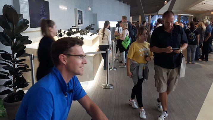 IFA International Electronics Fair, Berlin, Germany, accessible travel, Blumil, electric wheelchair