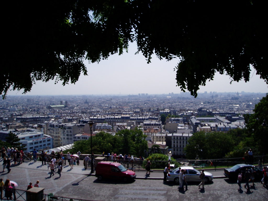 Paris, France, accessible travel, travel in an electric wheelchair, Blumil