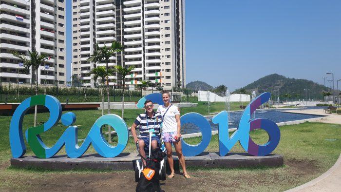 Rio de Janeiro, Brazil, accessible travel, travel in an electric wheelchair