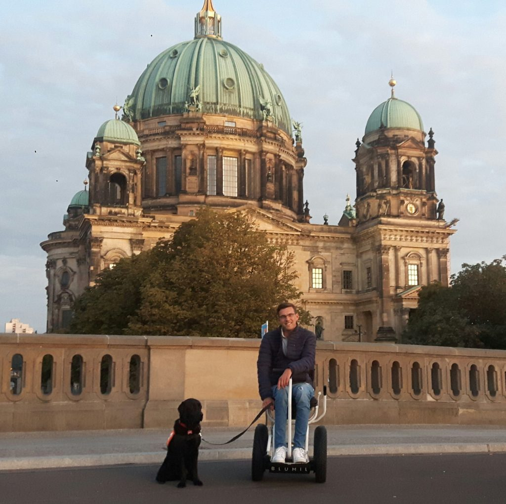 Berlin Cathedral, Berlin, Germany, accessible travel, electric wheelchair