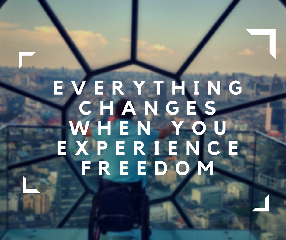freedom, experience freedom, Blumil electric wheelchair, accessible travel