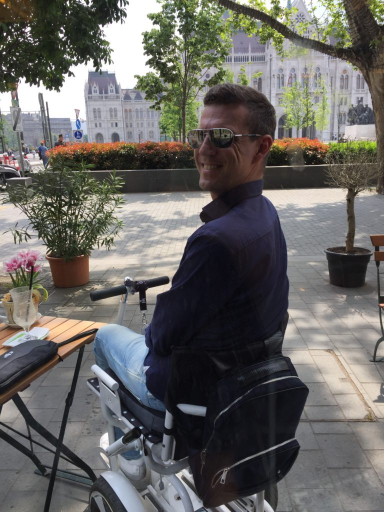 Budapest, Hungary, accessible travel, travel in an electric wheelchair