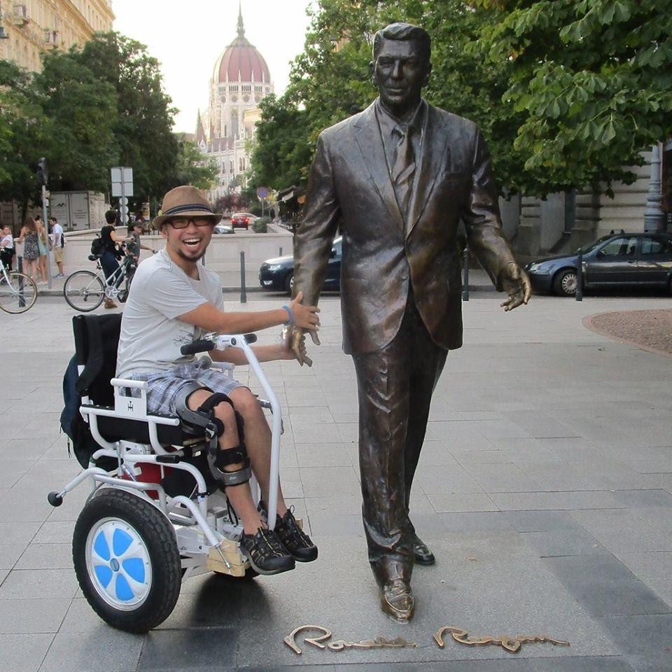Blumil electric wheelchair, all-terrain wheelchair, accessible travel