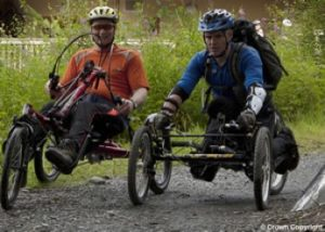 Those bikes may be as fast as electric wheelchairs