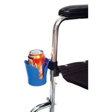 single cup holder, wheelchair users, gift for wheelchair users, electric wheelchair