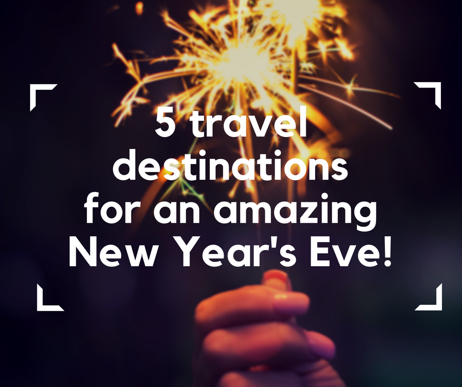 Travel destinations for New year's Eve, New Year's Eve, accessible travel, travel on an electric wheelchair, electric wheelchair