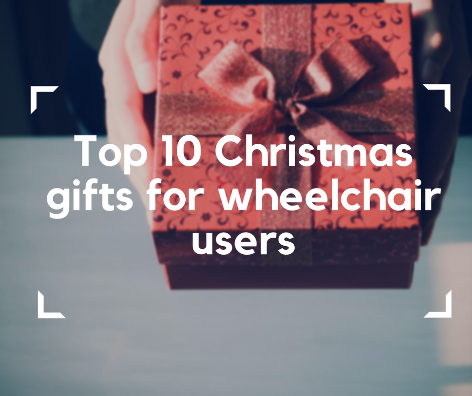 Christmas gifts for wheelchair users, electric wheelchair, christmas time, experience freedom